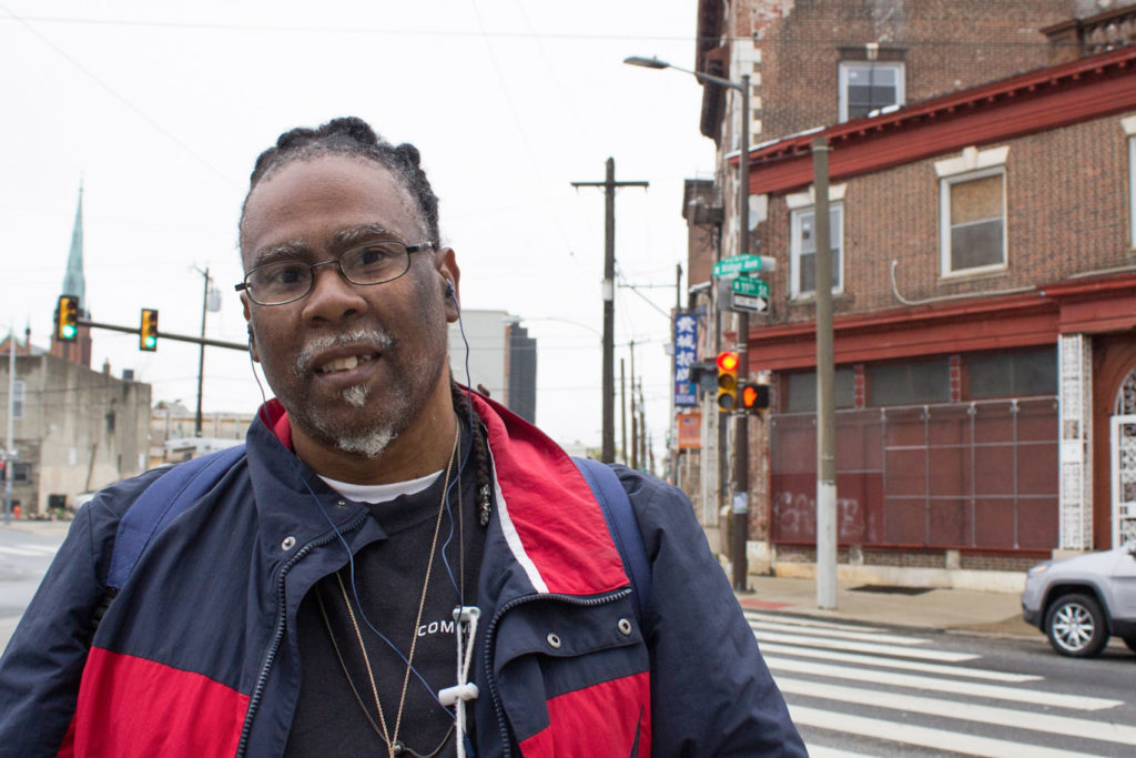 Leonard Mason, a 56-year  living at a nearby shelter, is a Rail Park fan