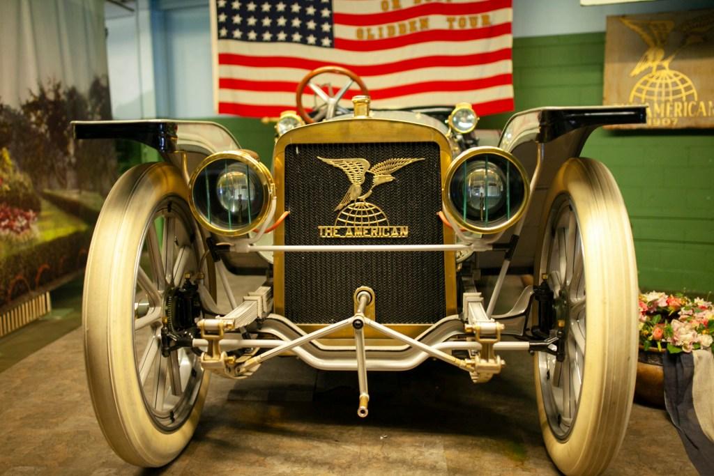 1909 AMERICAN UNDERSLUNG TRAVELER