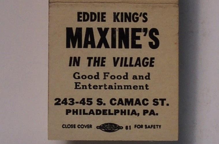 Maxine's Matchbook