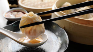 Soup dumpling at Dim Sum Garden