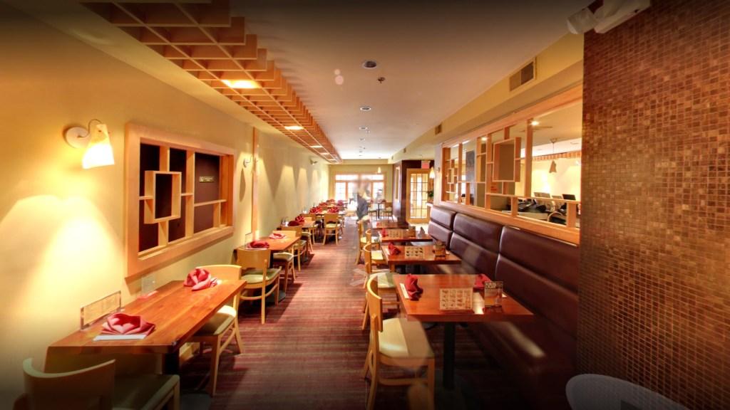 The dining room at Hikaru