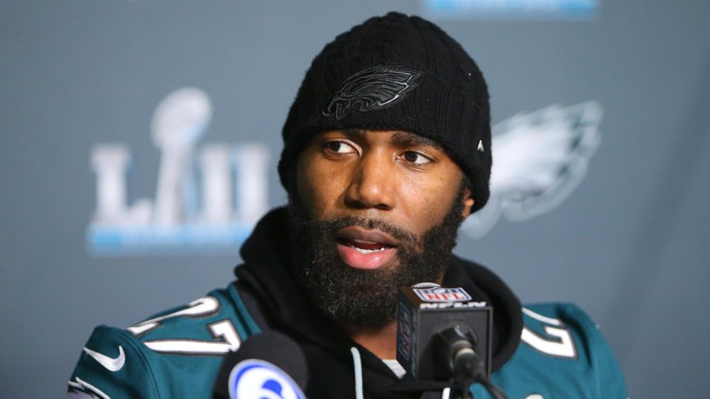 Eagles safety Malcolm Jenkins