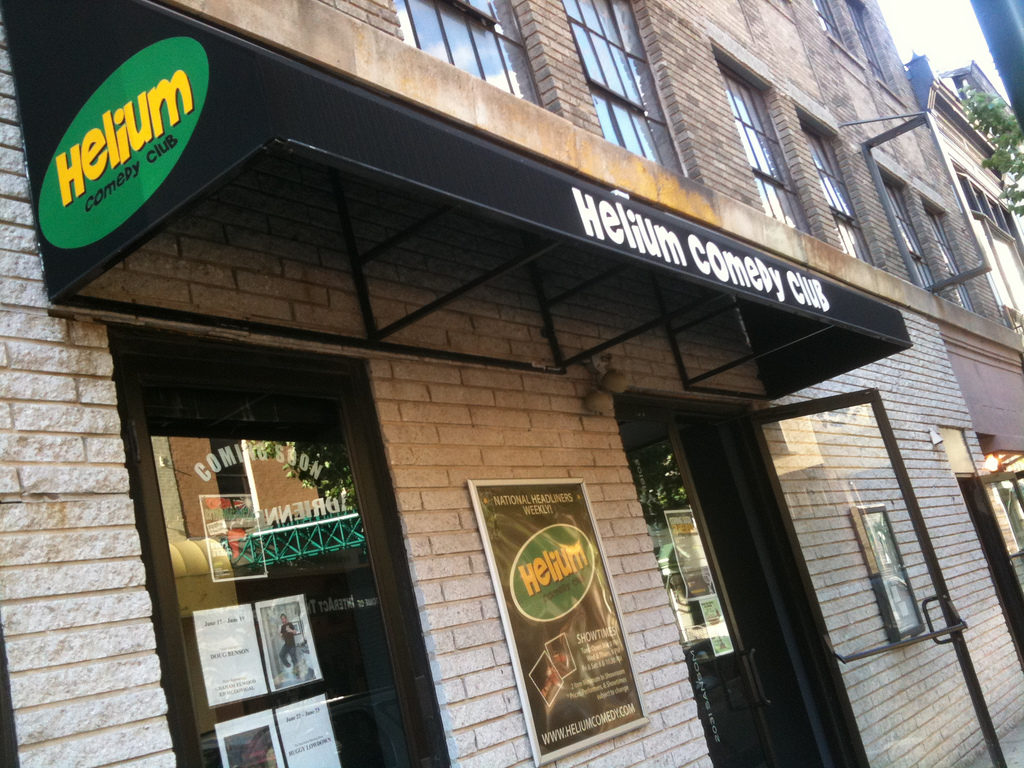 Helium Comedy Club at 20th and Sansom