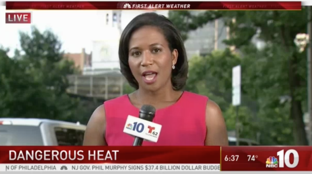 Pamela Osborne, 6:30 a.m. on July 2, 2018, NBC 10