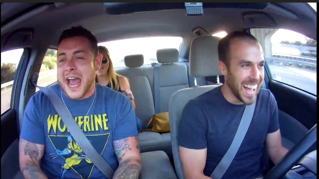 """Wolverine freestyles and CRUSHES Uber Karaoke"" – Driver Ed"