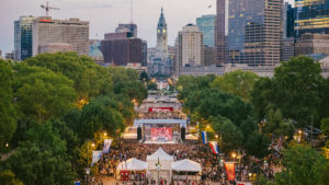 The Made in America festival takes over the Ben Franklin Parkway each Labor Day weekend