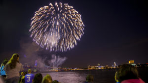 There are always big July Fourth fireworks displays, but it's been illegal to set off your own