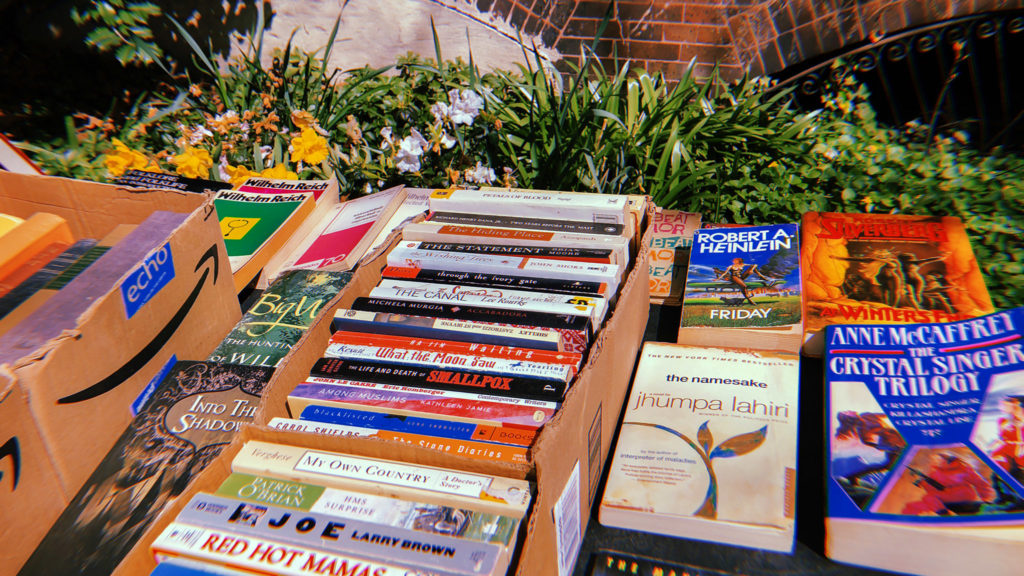 Books for sale near Clark Park
