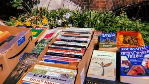 Books for sale near Clark Park