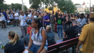 More than 100 people attended a vigil at McPherson Square in August, honoring those who suffered fatal drug overdoses in 2017.