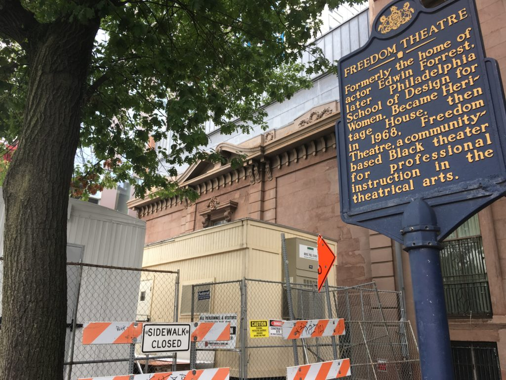 New construction + historic landmark signs = Philly