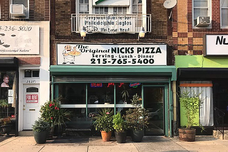 NIck's Pizza opened four years ago on Girard Avenue