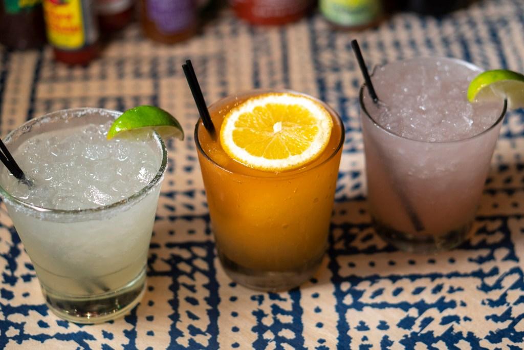 Margaritas at Rosy's Tacos