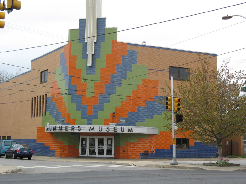 The Mummers Museum is a South Philly polling place.