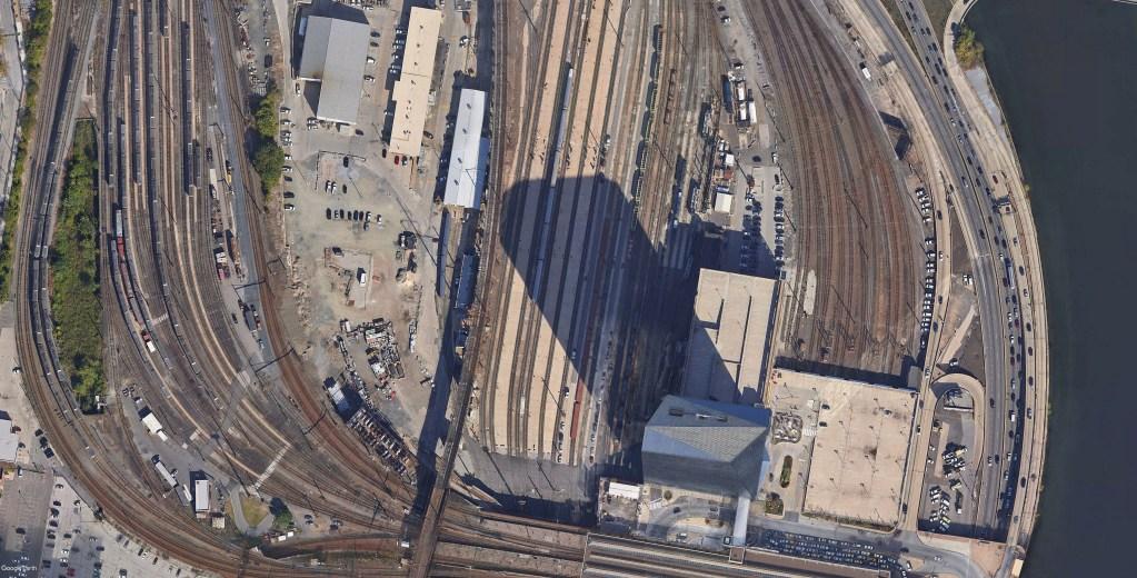 30th Street train tracks