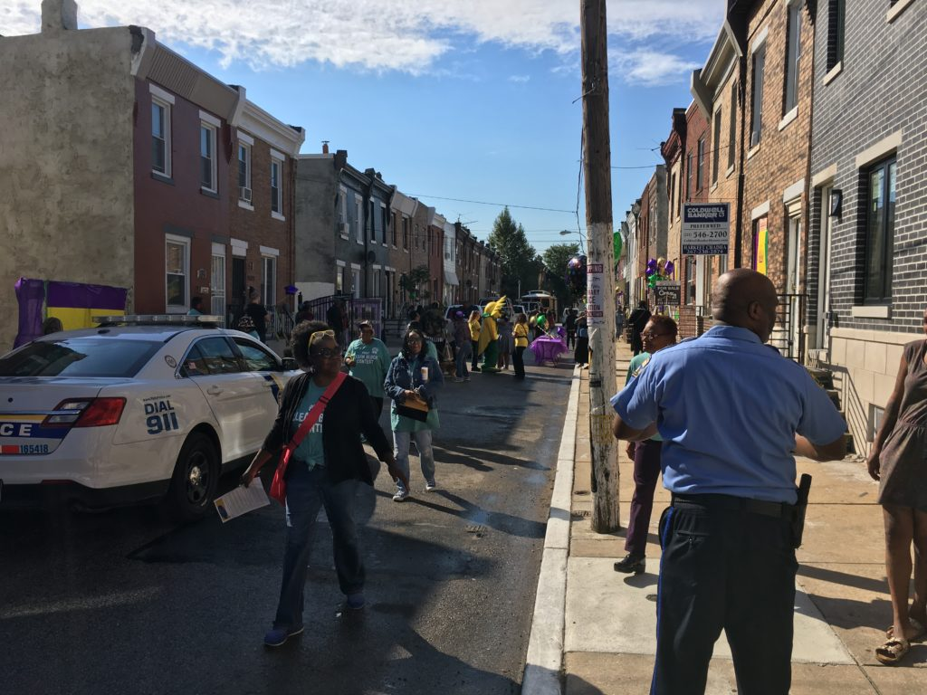 Judges swarming the 1500 block of South Taylor Street
