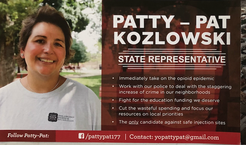 Mailer sent out to 177th District residents in September.