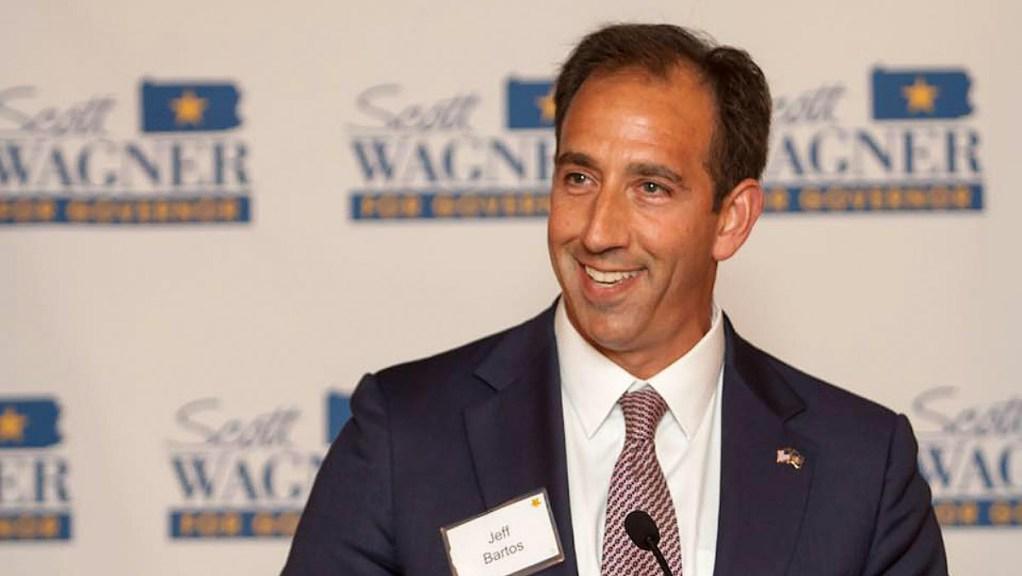 Pa. Lieutentant Governor candidate Jeff Bartos