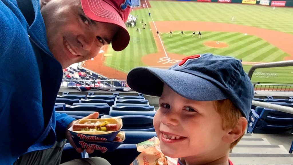 Mike Wang and his son enjoyed the Phillies season despite the disappointing finish