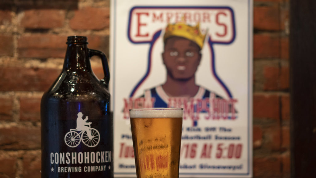 The Emperor's New Jump Shot is a beer from Misconduct Tavern and Conshohocken Brewing