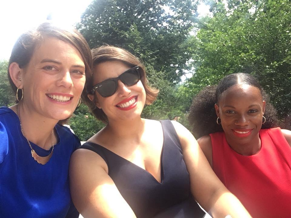 Elizabeth Fiedler, Sara Innamorato, and Summer Lee