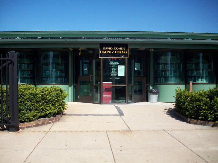 Ogontz library in Northwest Philly