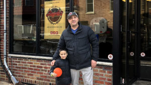 Danny DiGiampietro and his son (and restaurant's namesake) Angelo