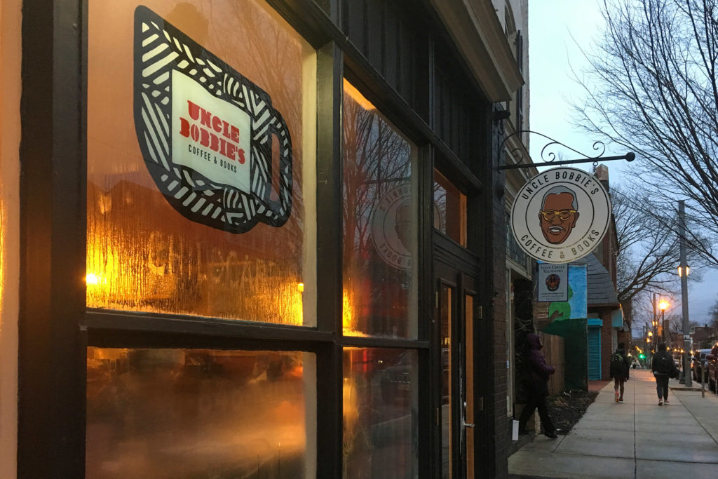 Uncle Bobbie's Coffee & Books on Germantown Avenue