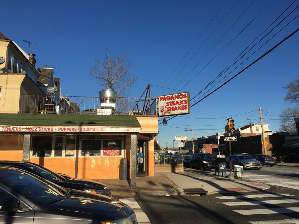 Pagano's Steaks and Shakes in Tacony