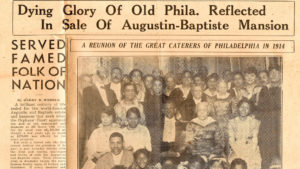 A newspaper clipping from the 1930s featured the Dutrieuilles' extended family