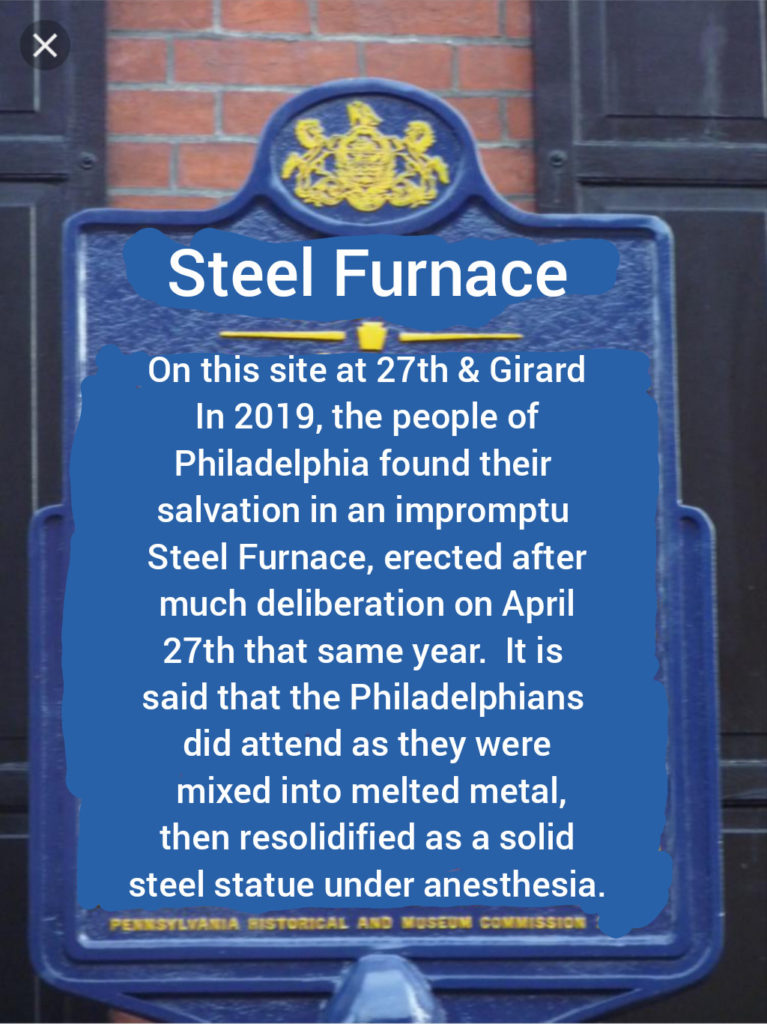 furnace historic marker