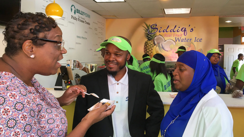 Siddiq Moore of Siddiq's Water Ice will collaborate with the Rebel crew on the new market