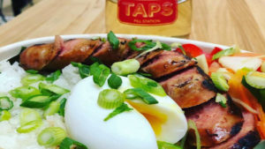 Longsilog from Lalo at TAPS Fill Station in The Bourse
