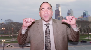 Screenshot of video from Billy Ciancaglini's mayoral campaign