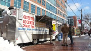 Temple University's main campus is home to 50 food trucks
