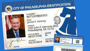Example PHL City ID for Mayor Jim Kenney