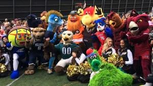 So many mascots