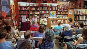 One of many successful author events at Penn Book Center, which is closing after 57 years — unless someone steps in to take it over