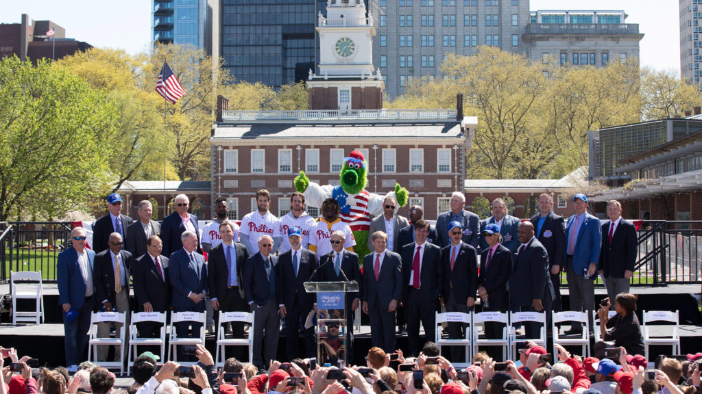 Of course the Phanatic took part in the announcement