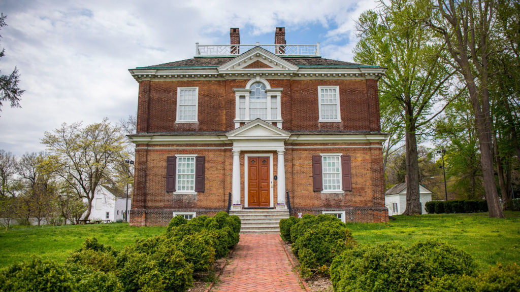 Woodford Mansion was built in the 1700s
