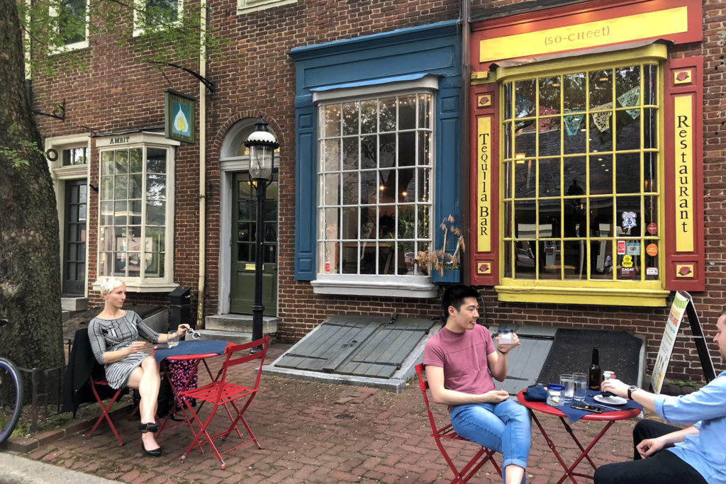 Next to Xochitl on Headhouse Square, Bodhi Coffee will become Kitchen's Lane Creamery