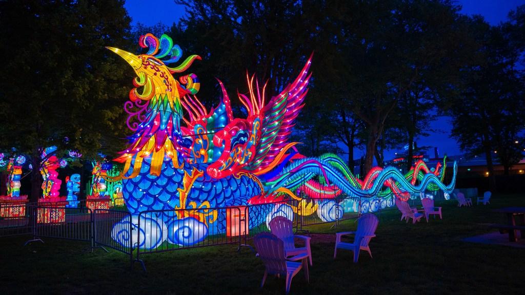 Chinese Lantern Festival Philadelphia 2020.Philly S Chinese Lantern Festival 2019 Video And Photos On