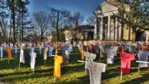 A memorial marked each of the city's 331 gun violence victims in 2012