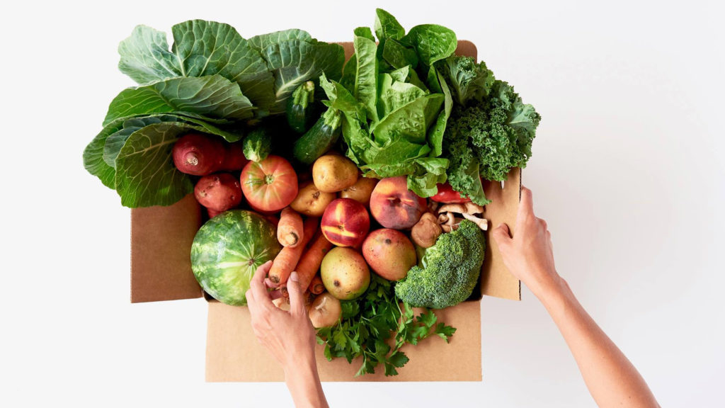 Ugly fruits and veggies delivered to your door -- stoop thieves be
