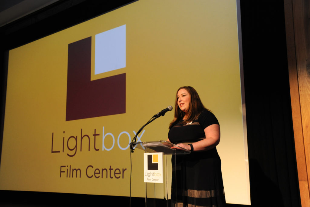 Lightbox program director Sarah Christy