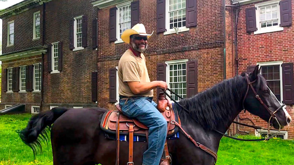 Woodford Mansion welcomes urban horse riders all the time