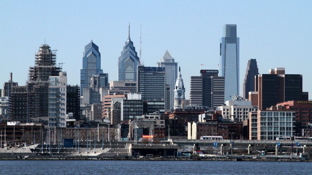 Philly's section of the Delaware River is the only one not officially designated for swimming.