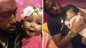 Jamal Walker and his daughter, Bella