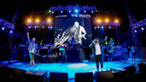 The Mann Center was a new location for the Roots Picnic last year