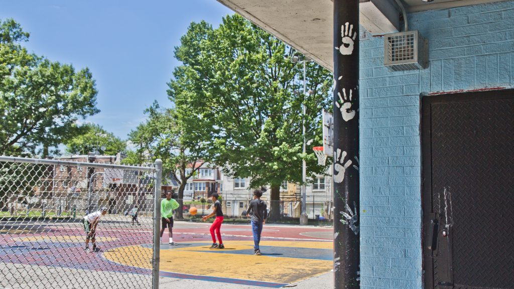 Barrett playground is one of 30 Philly parks that contain the Mosquito devices.